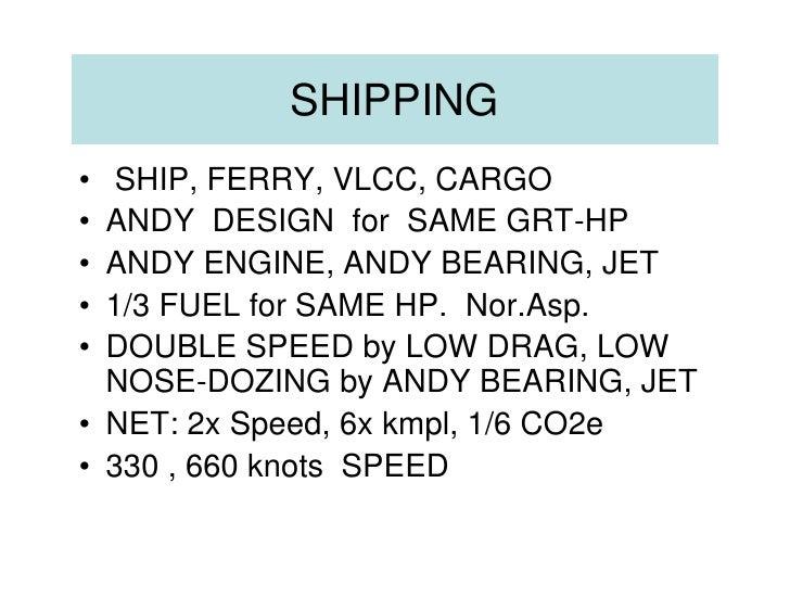 Ship, Ferry, Vlcc  33 %  Fuel