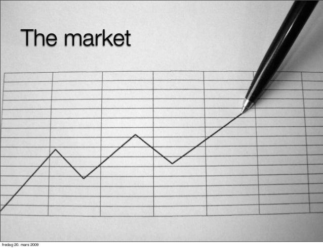 The market  fredag 20. mars 2009