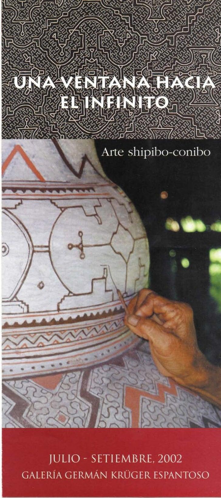Los shipibo-conitperuana. PerteneoUcayali y sus aflueiJamayayYanna. Seno arriba el Conibcdos zonas, porquepersonas reparti...