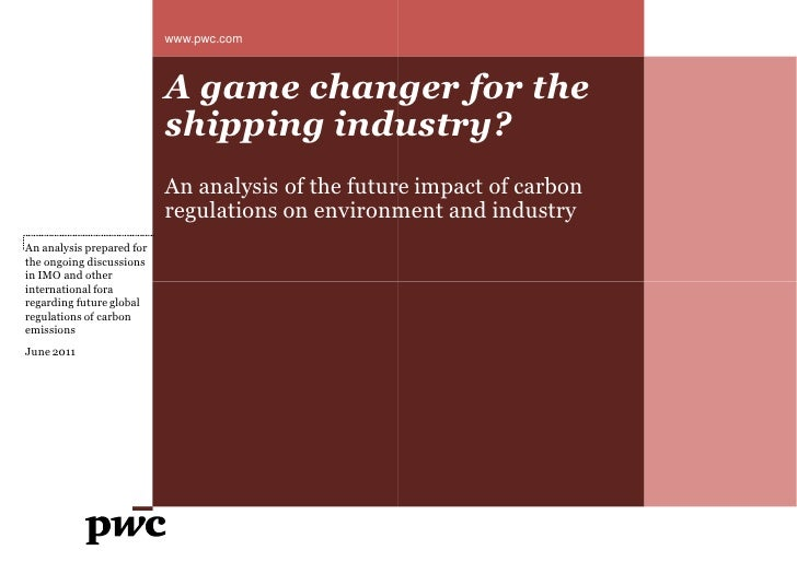 www.pwc.com                           A game changer for the                           shipping industry                  ...