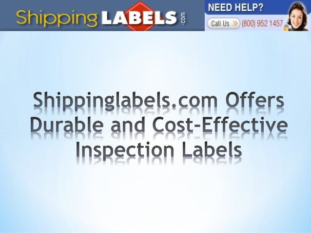 ShippingLabels.com has been a leading online store offering a vast collection of shipping labels and inventory labels for ...