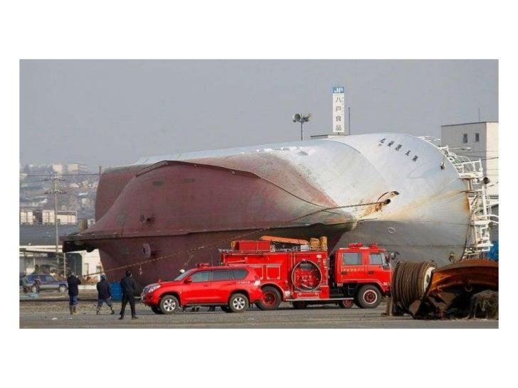 Ships after Tsunami