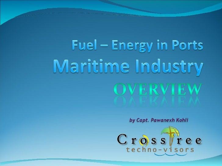 COLD IRONING Ships - Alternative Maritime Power