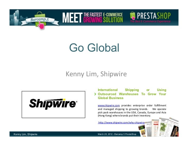 Go Global - Shipping Options To Grow International Sales