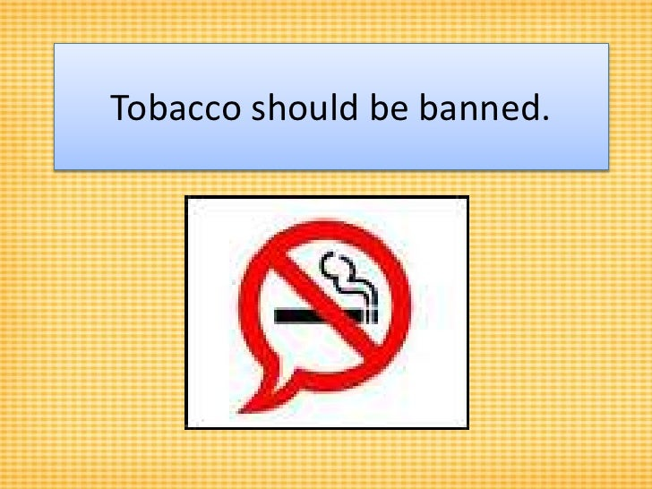 essay of smoking should be banned