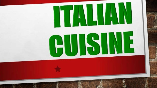 WHAT IS ITALIAN COOKING? Many non-Italians identify Italian cooking with a few of its most popular dishes, like pizza and ...