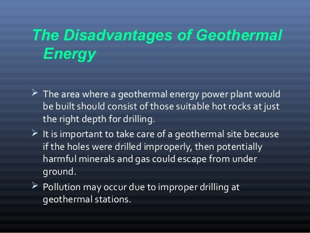 Advantages And Disadvantages Of Geothermal Energy 58387   RIMEDIA