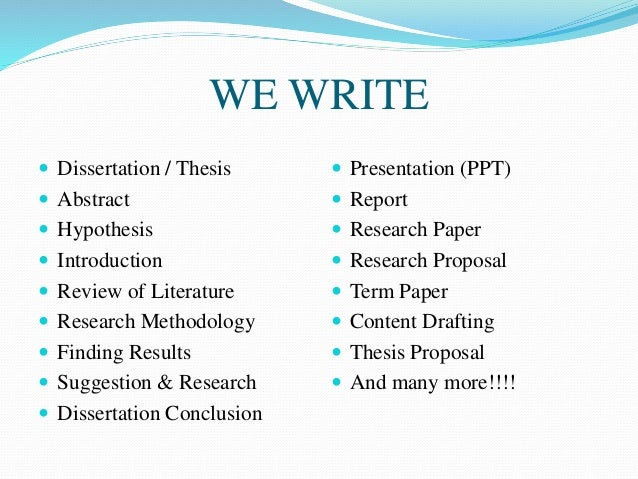 popular thesis proposal writer website for mba