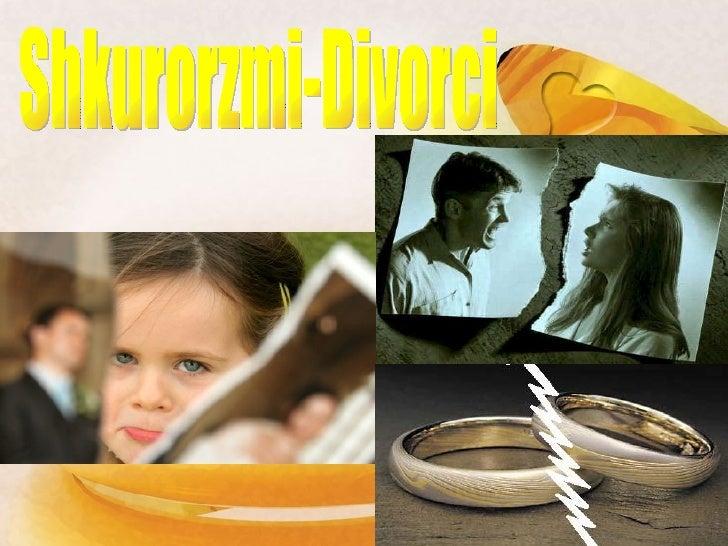 Shkurorzmi-Divorci