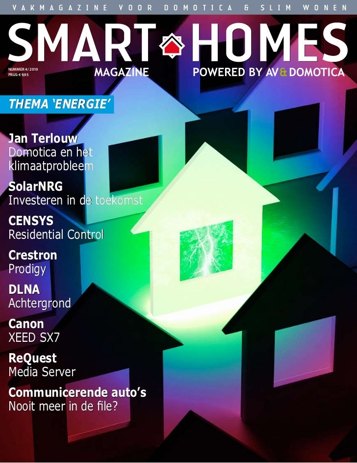 Smart Homes Magazine - September 2010