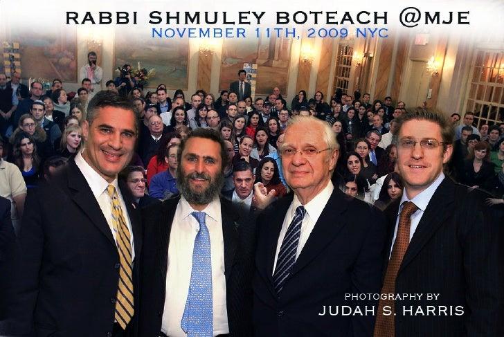 Rabbi Shmuley Boteach at MJE