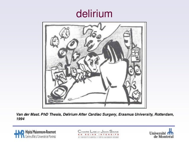 Assessing Delirium Pragmatics And Confounders