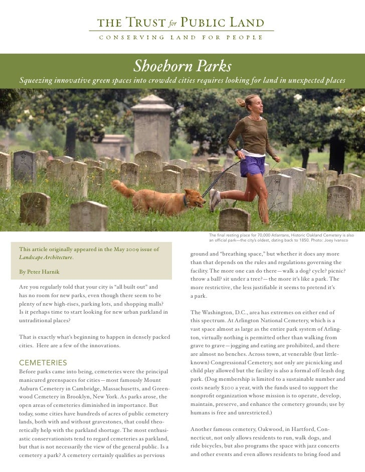 Shoehorn Parks Article Final Version