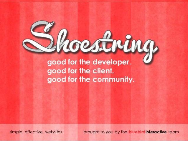 Innovation Showcase: Shoestring Pitch