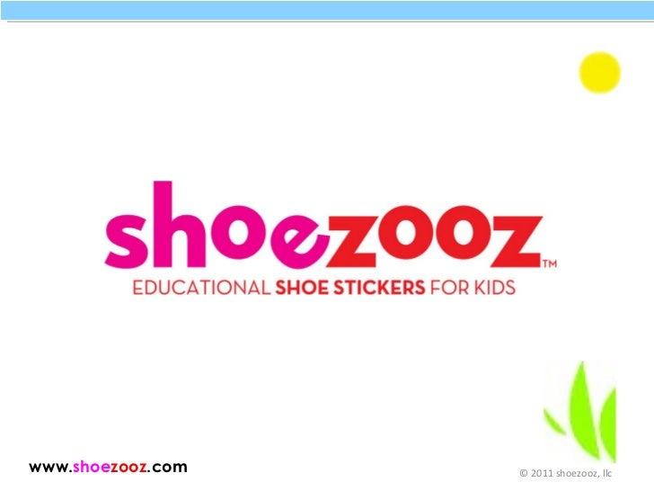 Shoezooz Educational Shoe Stickers