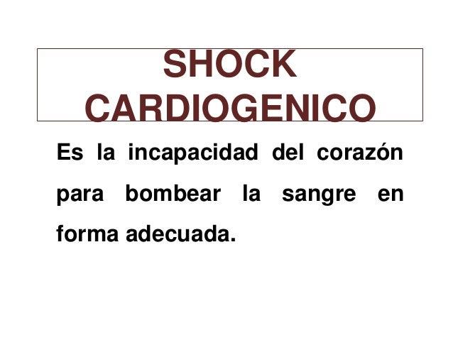 Shok cardiogenico