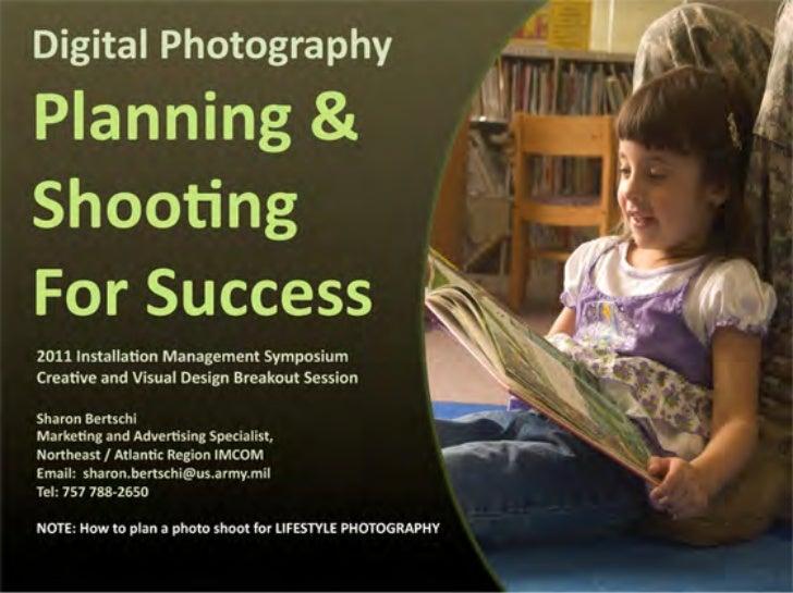 Shooting for success photo shoot mgt