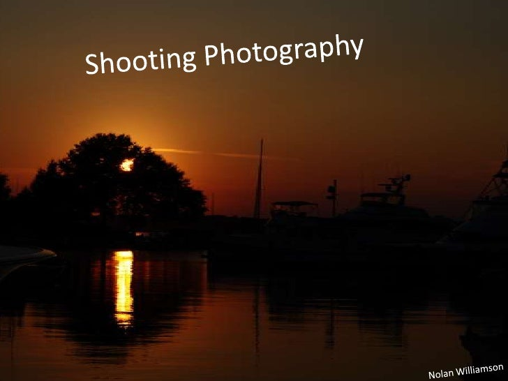 Shooting photography