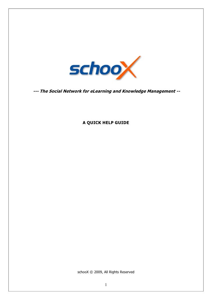 shooX Help Guide