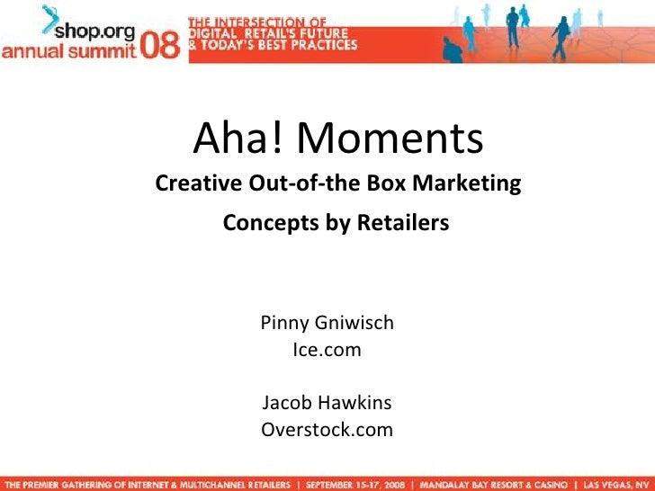 Shop Org Aha moment