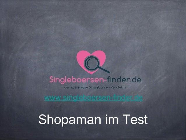 Shopaman im Testwww.singleboersen-finder.de