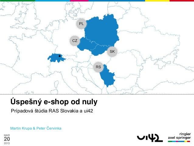 ui42 Ringier Axel Springer Slovakia Shopcomm2013 Úspešný e-shop od nuly2013-03-20