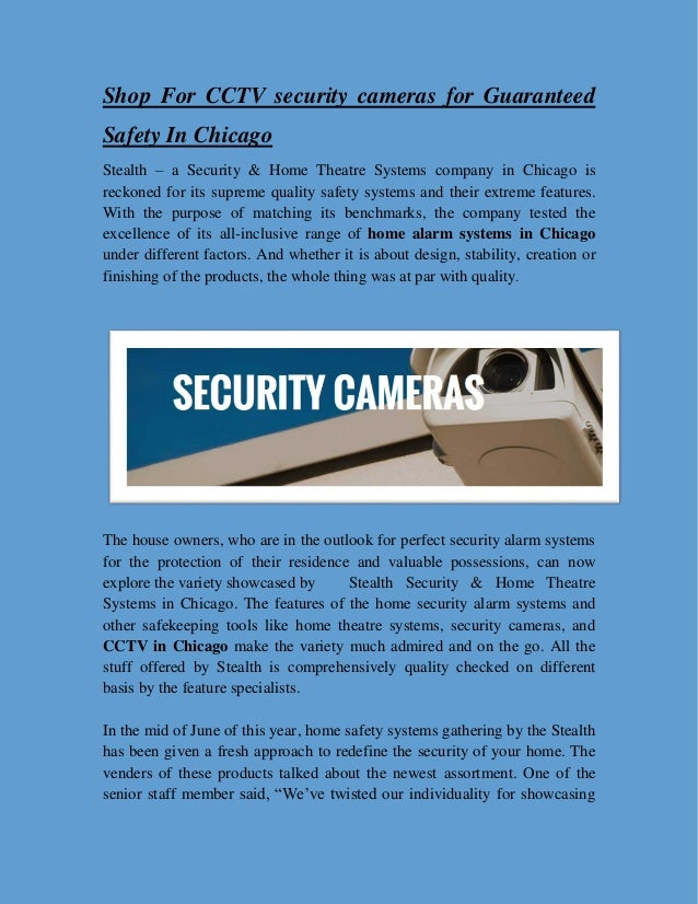 Shop For Cctv Security Cameras For Guaranteed Safety In