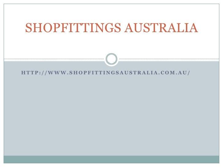 Shopftings australia
