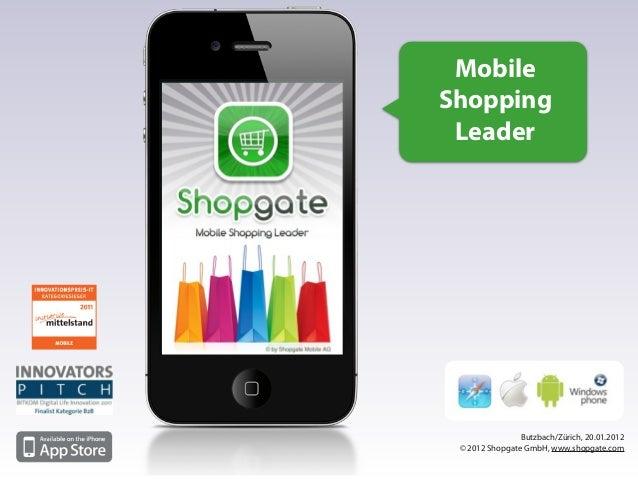 Shopgate Vortrag