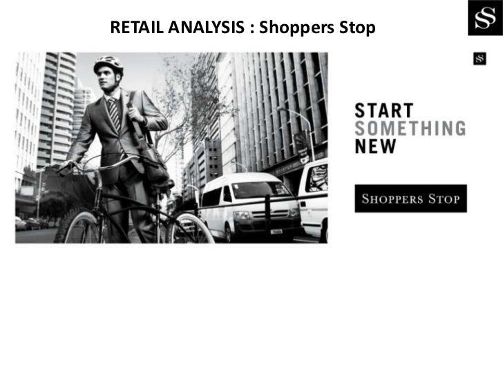 RETAIL ANALYSIS : Shoppers Stop