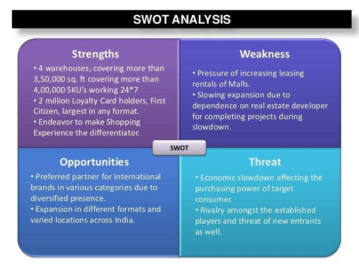 loyalty programs swot analysis Swot analysis what is swot swot stands for strengths total customer analytics' decile analysis shows you customer loyalty and staying power.