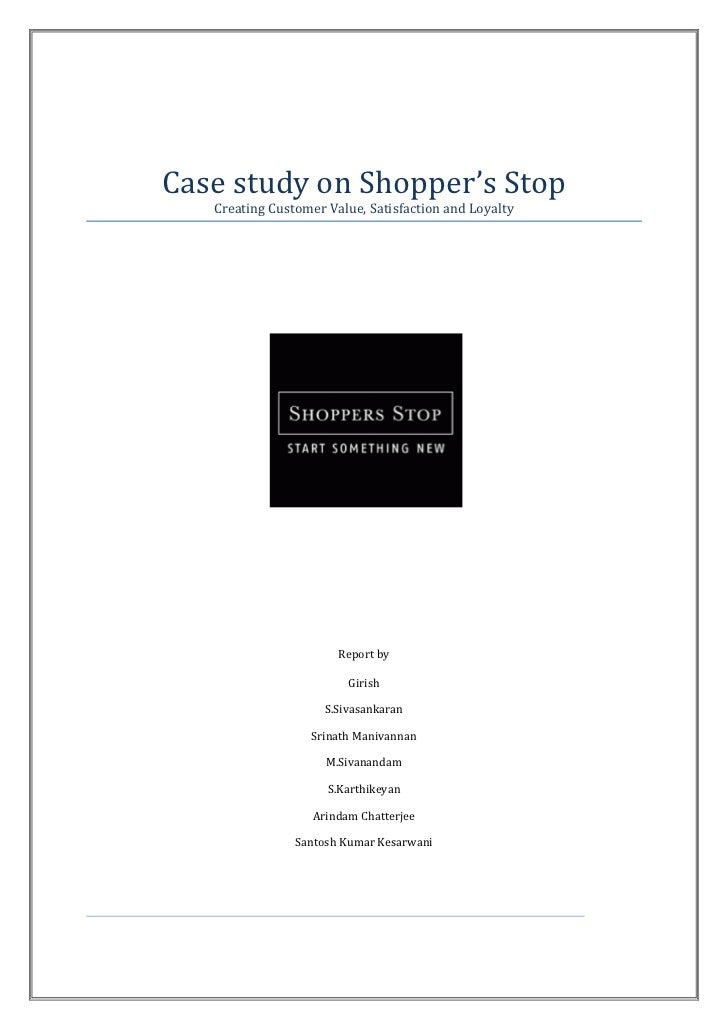 Shopper stop case study
