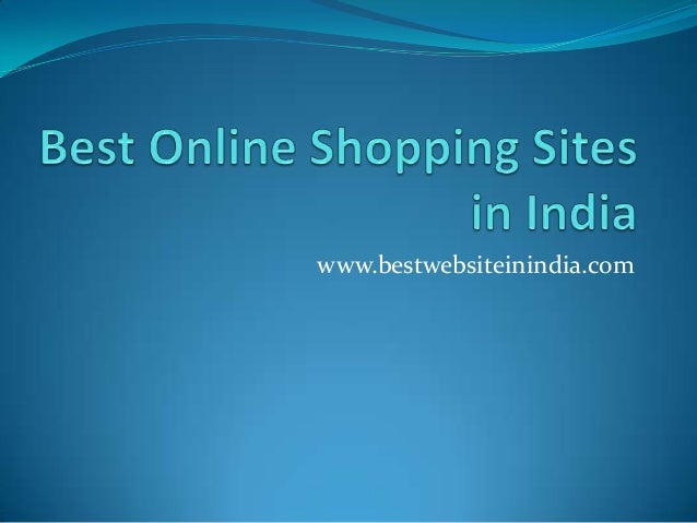 Best online shopping websites in india for Best online retail sites
