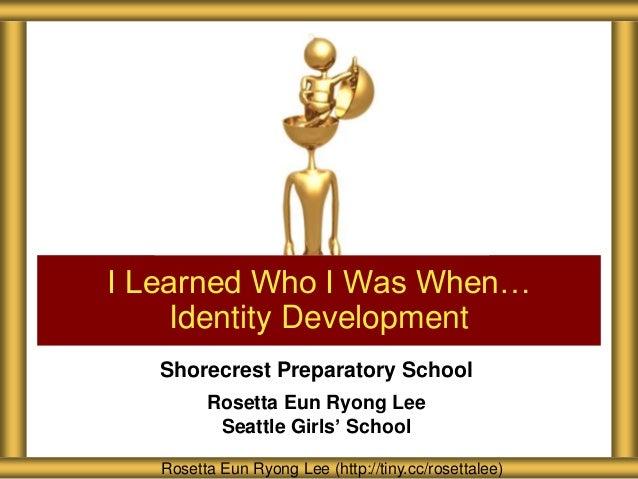 Shorecrest Preparatory School Identity Development for Faculty