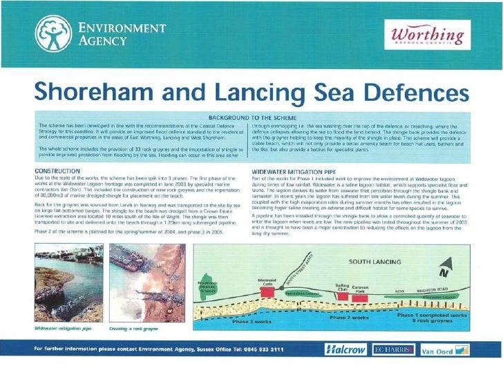 Shoreham sea defence