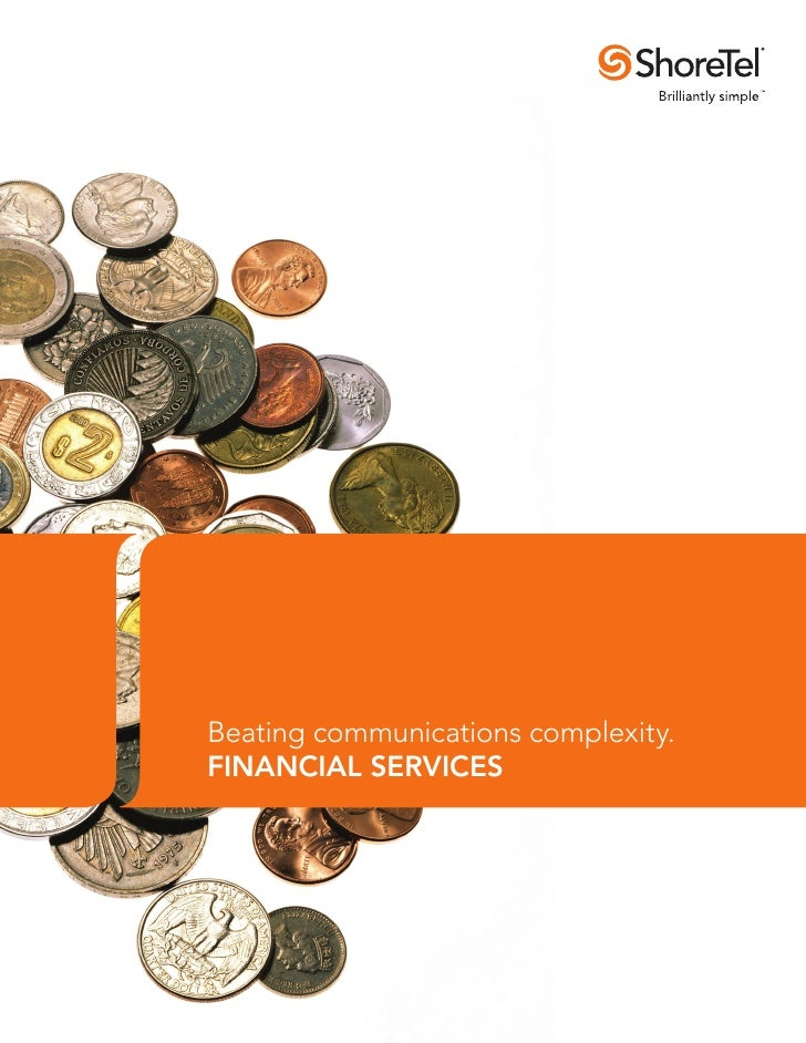 Beating communications complexity.FINANCIAL SERVICES