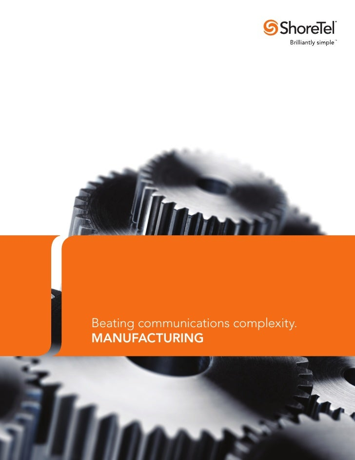 Beating communications complexity.MANUFACTURING
