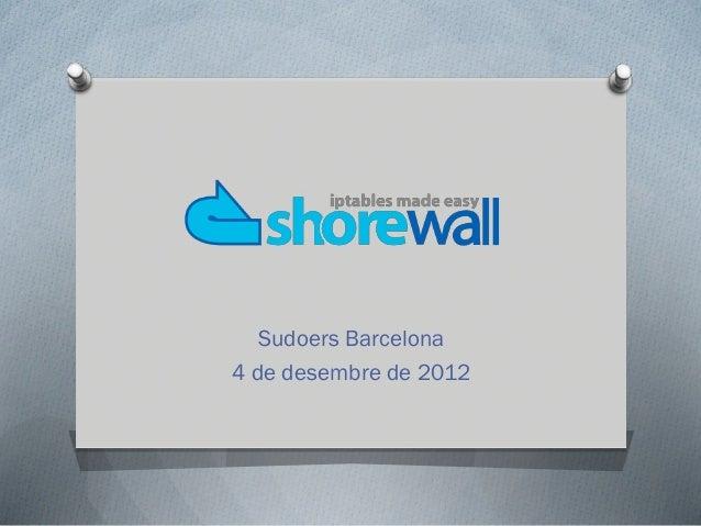 Introducció a Shorewall