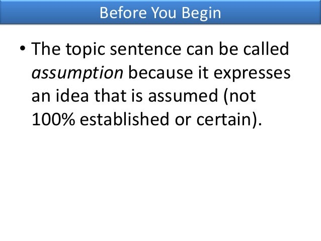 Can a thesis statement be 2 sentences