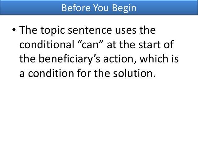 Thesis statement sentence
