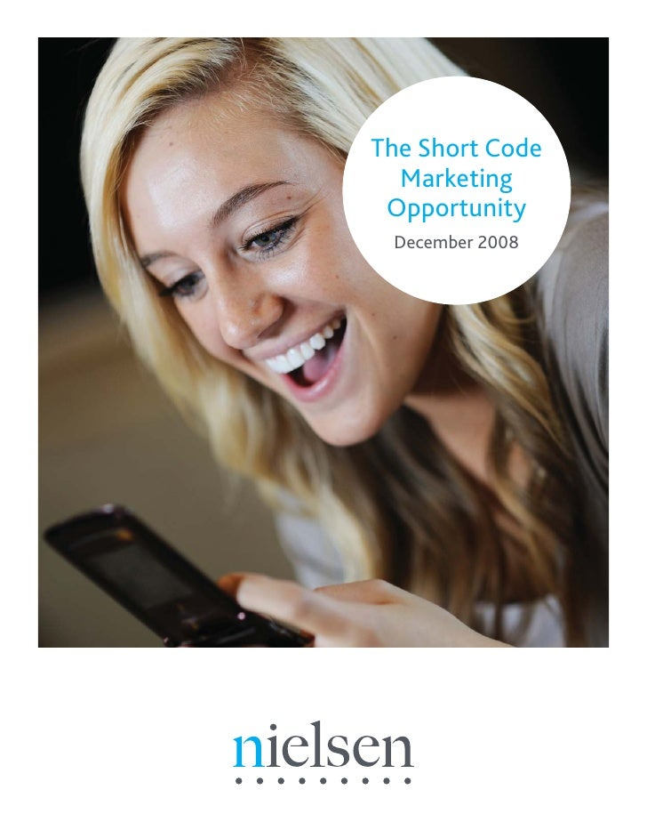 The Short Code   Marketing  Opportunity  December 2008