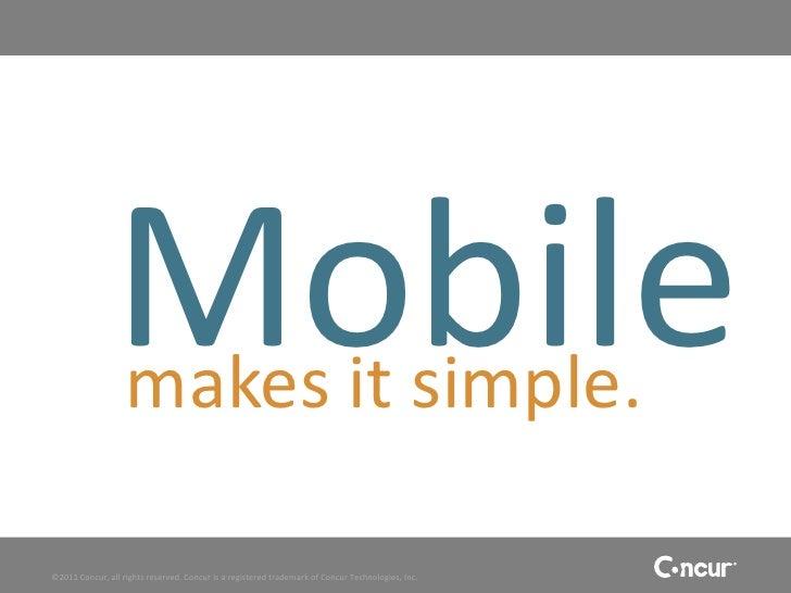 Concurs Mobile App