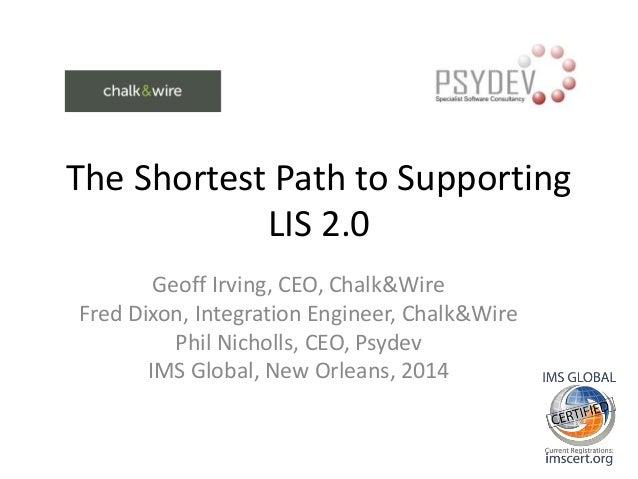 Shortest Path to LIS