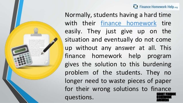 Why We Tutor Finance: