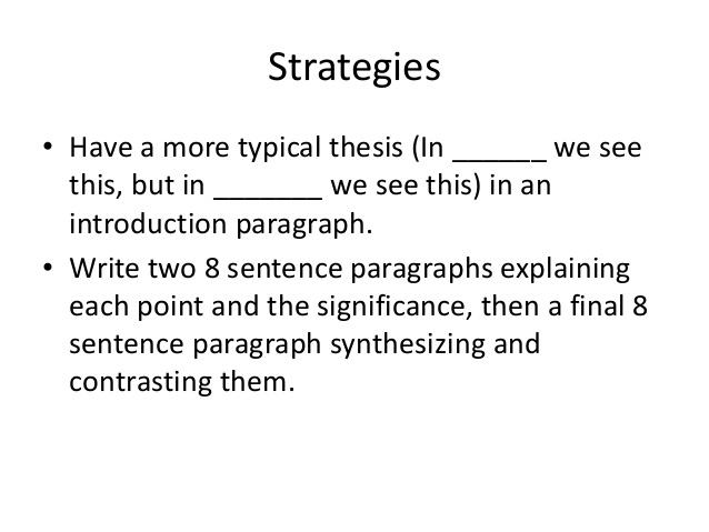 Thesis Statement Writing |authorSTREAM
