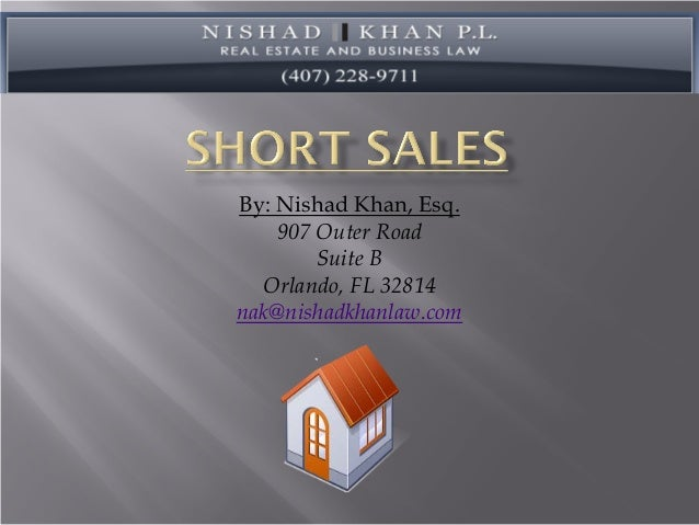 Short sale pp