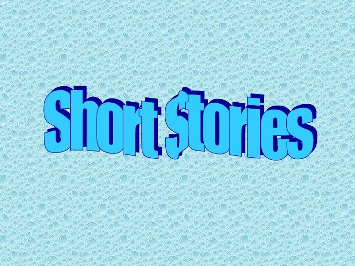 Short stories ppt 2