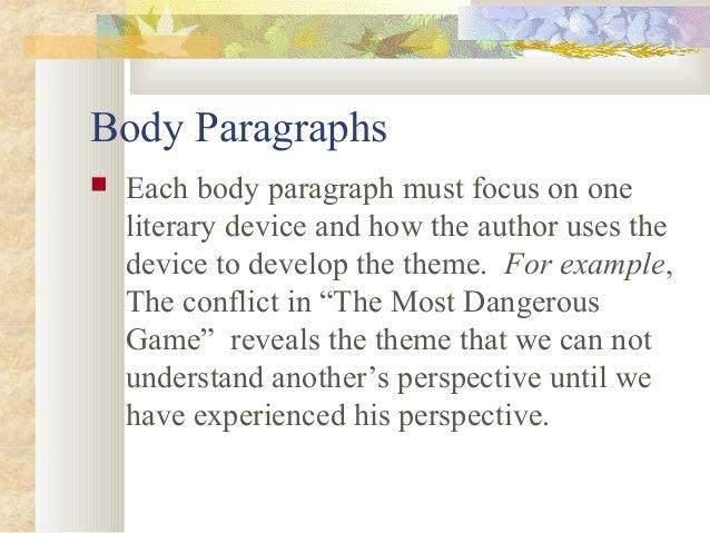 essays short story analysis