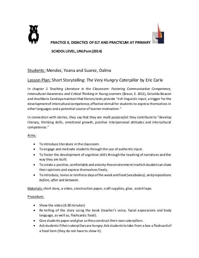 sample lesson plan for preschool