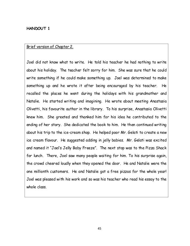 I wrote a short story. What do you think about it?